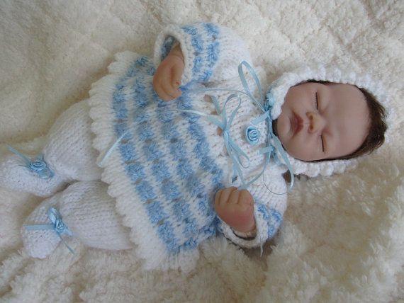Emmy Doll Knitting Pattern : Ashton Drake Emmy Baby Doll Hand Knit Doll Dress Set ...