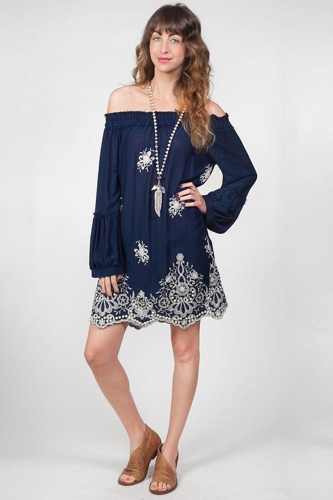 712c63ca7e6 MISA LA Maral Long Sleeve Off Shoulder Sheer Embroidered Floral Dress Blue  S B3 #MISA #DressAsymmetricalHemBabyDollBeachDressBlousonALineDressBallGown  # ...