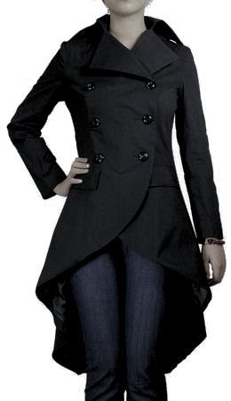 Piece #1 - An interesting black trench coat EDIT: Acquired! August 2014