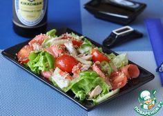 Японский салат с курицей и имбирем - кулинарный рецепт