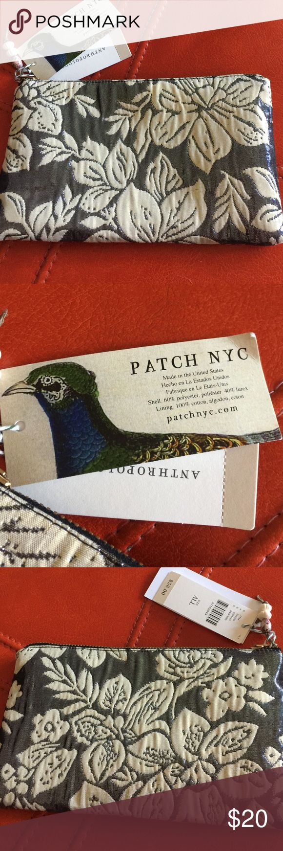 """ANTHROPOLOGIE PATCH NYC COSMETIC BAG NWT $58 ANTHROPOLOGIE PATCH NYC COSMETIC EVENING BAG - NWT - MSRP $52 - APPROX SIZE: 8"""" x 4 1/2"""" - COLOR: BLACK WHITE/ NUDE BLACK ANTHROPOLOGIE PATCH NYC Bags Cosmetic Bags & Cases"""