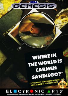 Emularoms: Where in the World is Carmen Sandiego? (BR) [ SMD ...