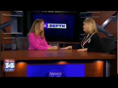 Reimagine co-founder Tina Staley talks with Marti Skold at News 14 Carolina.