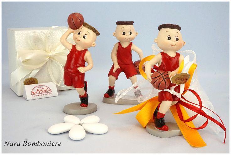 bomboniere comunione giocatori di basket