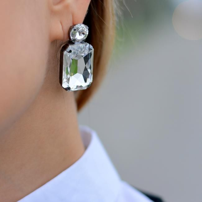 Swarovski dream - nickel free. earrings, fashion, blogger, culture and trend, earrings, sefemdesign - Made in Italy