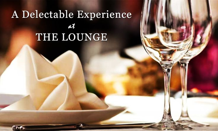 Indulge yourself with the finest at The Lounge...For table reservations, call +91 20 4018 8444