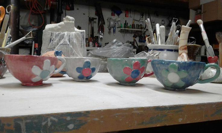 teacups finished