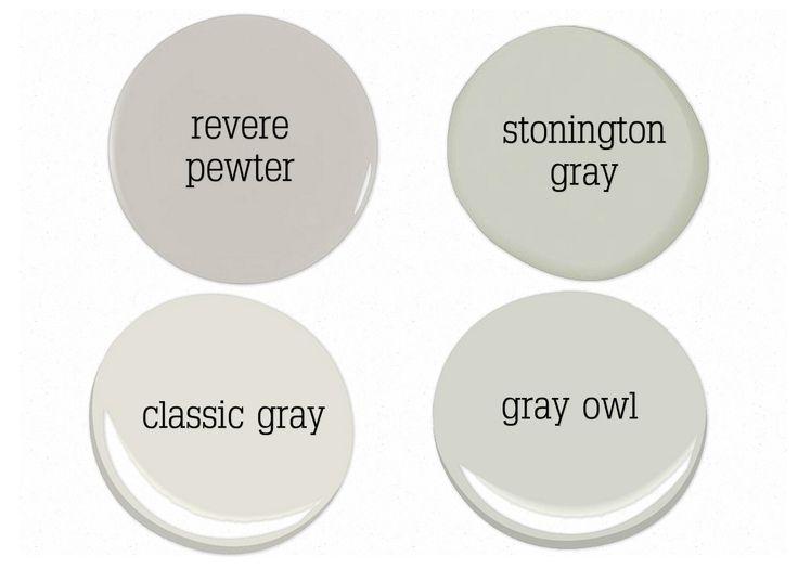 Benjamin Moore Gray Owl Paint Color : Industry Standard Design