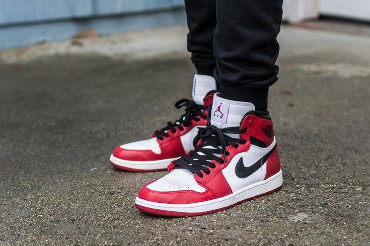 Air Jordan 1 Retro High Chicago - On Feet Sneaker Review | Air ...