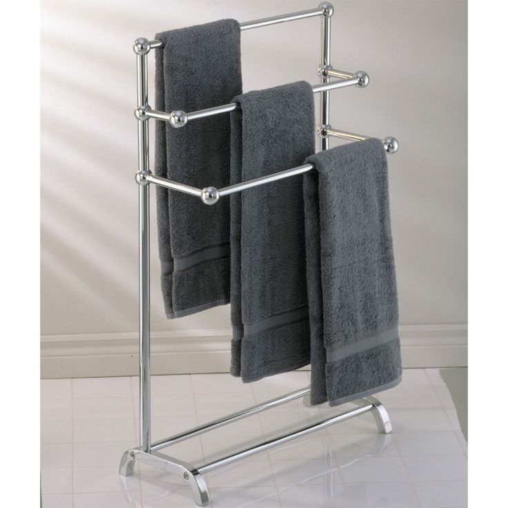 Keep Your Large Bath Towels D In The Bathroom Or By Pool Area With This Stand Alone Towel Rack