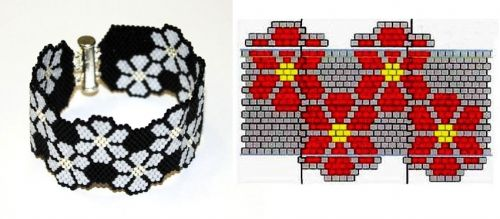браслет из бисераBead, Lovers, Beads Tutorials, Of The, Las Perla, Esquemas Peyote, Beads Pattern, Fashion Inspo, Beads Techniques