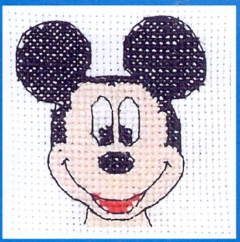 Disney-Mickey-Mouse-Cross-Stitch-Kit-DPPF1002-Mickey-Quickie
