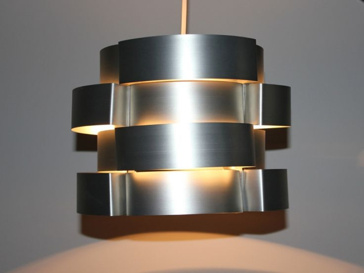 Suspension En Lamelles D Aluminium Vintage Vintage Suspension Lumiere