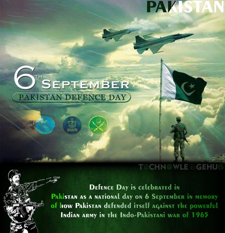 Pakistan Defence | 6 September | Pakistan Defence Day