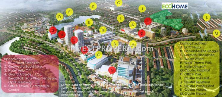 Lokasi EcoHome CitraRaya Apartment Tangerang