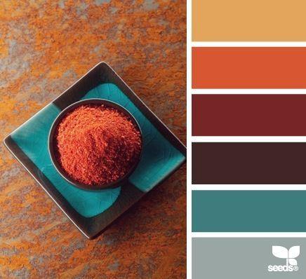 terracotta colour in interiors - Google Search