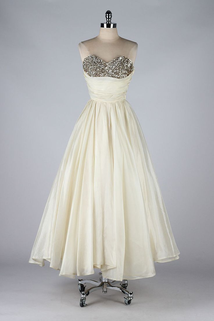 Vintage Gown by Emma Domb 1950's