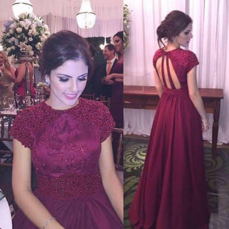 355 best Vestidos de noche images on Pinterest | Long prom dresses ...