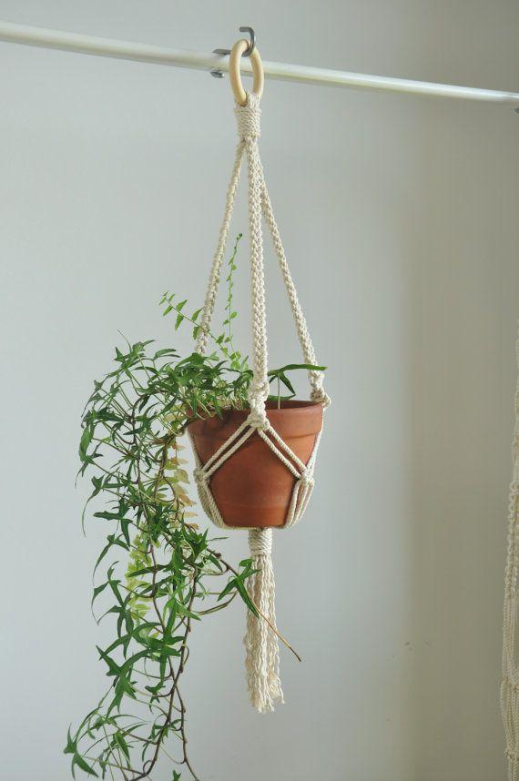 Macrame Plant Hanger Indoor Garden Plant Pot Holder