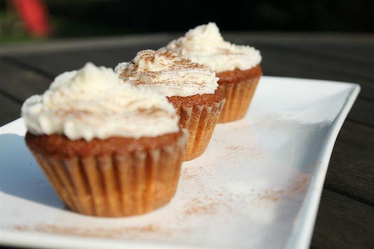 Fahéjas karamellás muffin