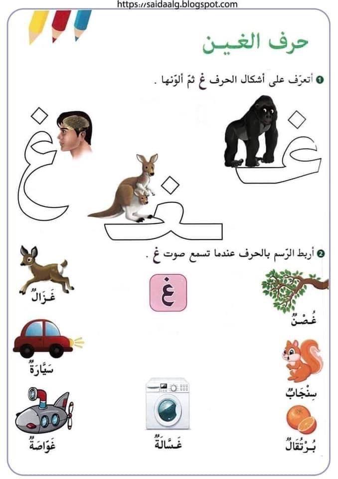 الحروف الهجائية وأشكالها مدونة جنى للأطفال In 2021 Arabic Kids Arabic Alphabet Letters Learn Arabic Alphabet