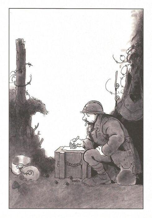 Jacques Tardi - portfolio - Poilus - Putain de guerre 1914 / 1918 - (2014)