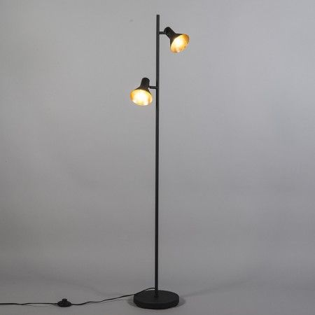 Vloerlamp Magno 2 zwart