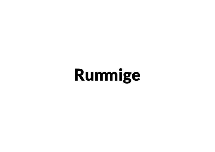 The Rummige Blog    http://rummige.tumblr.com/