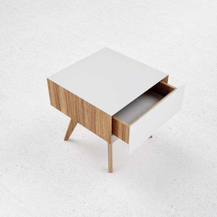 H1 bedside table by ODESD2. Designer: Zbroy Svyatoslav.