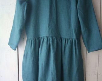 Maxi washed linen summer dress / Charcoal par notPERFECTLINEN
