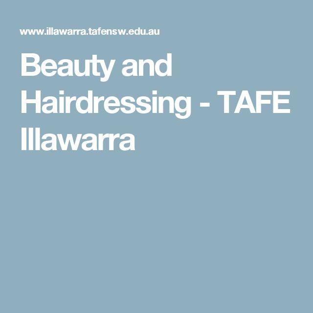 Beauty and Hairdressing - TAFE Illawarra