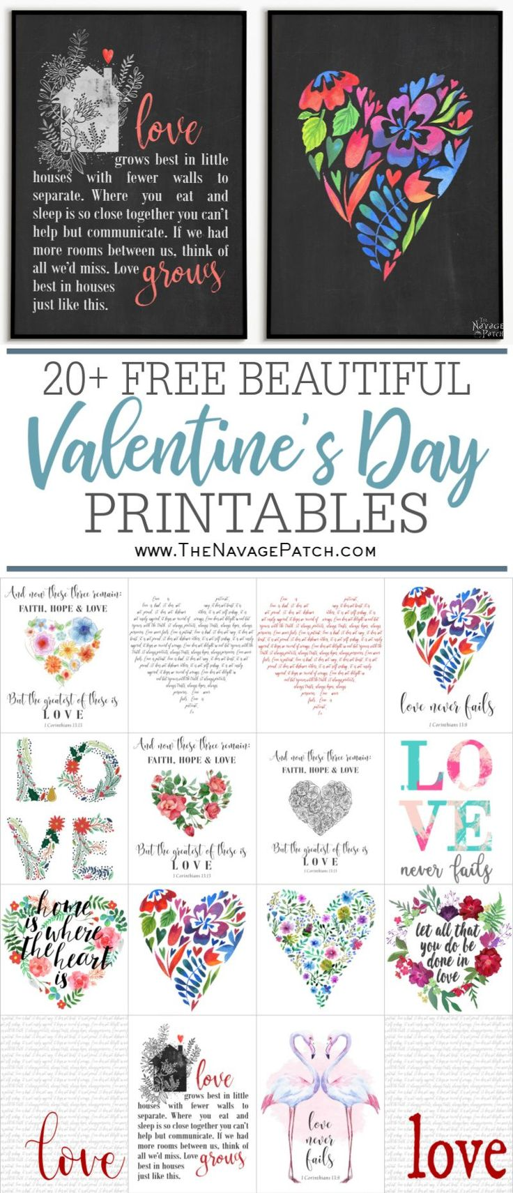 Beautiful Free Valentine's Day Printables   Free ...