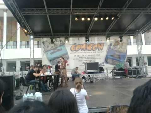 Marique, Conan il barbaro @Comicon 2012