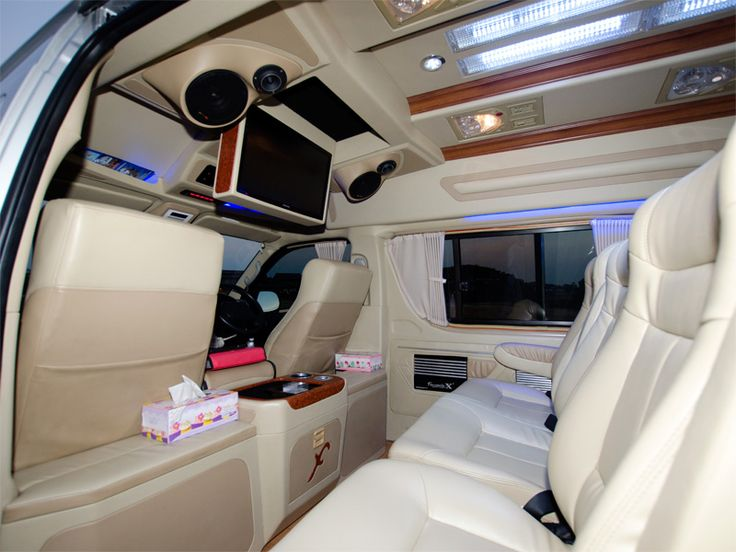 Toyota Hiace Taxi Interior Front