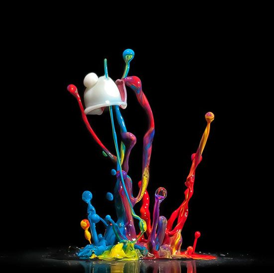 Jumping ColorsPhotos, Liquid Art, Inspiration Photography, Markus Reugel, Abstract Photography, Water Droplets, Jumping Colors, Waterdrop Photography, Photography Inspiration