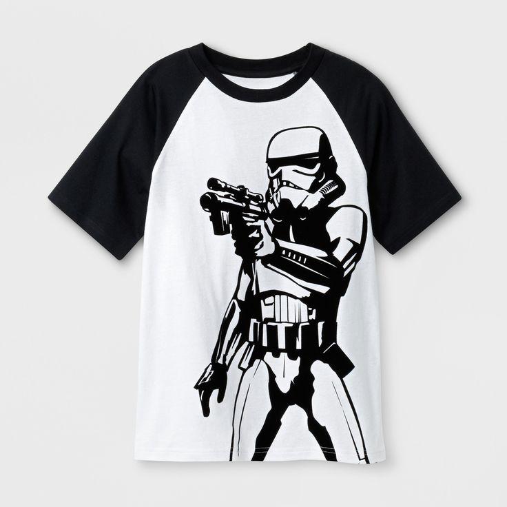 Boys' Star Wars Stormtrooper T-Shirt - White M
