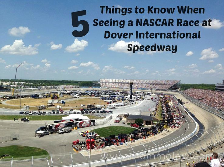 5 Things to Know When Seeing a NASCAR Race at Dover International Speedway #ad #IC #FedEx400