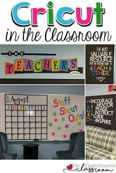 Are you looking for ways to use a Cricut in the classroom? This blog post has you covered! You'll find ideas for decorating, organizing, saving money, and more! Click through to see all the fabulous ideas that can be used at ANY grade level and even in your homeschool (or anywhere in your home or school)! Check it out now!