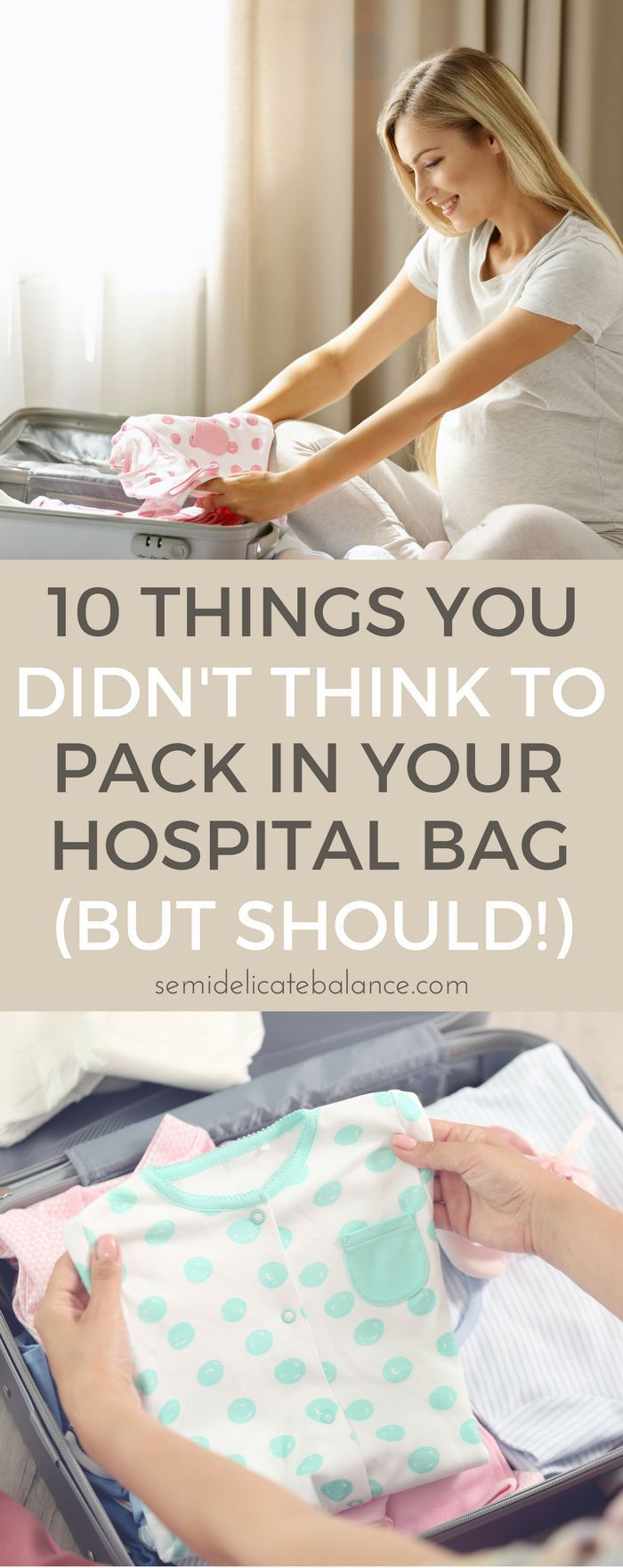 10 Things You Didn't Think to Pack for Your Hospital Bag (But Should!)