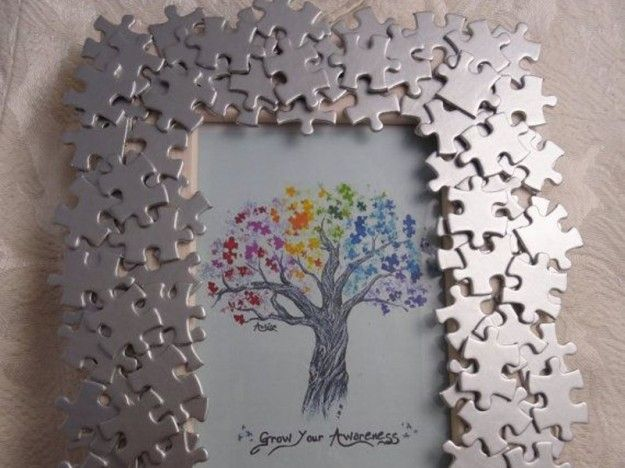 Cornice con i puzzle