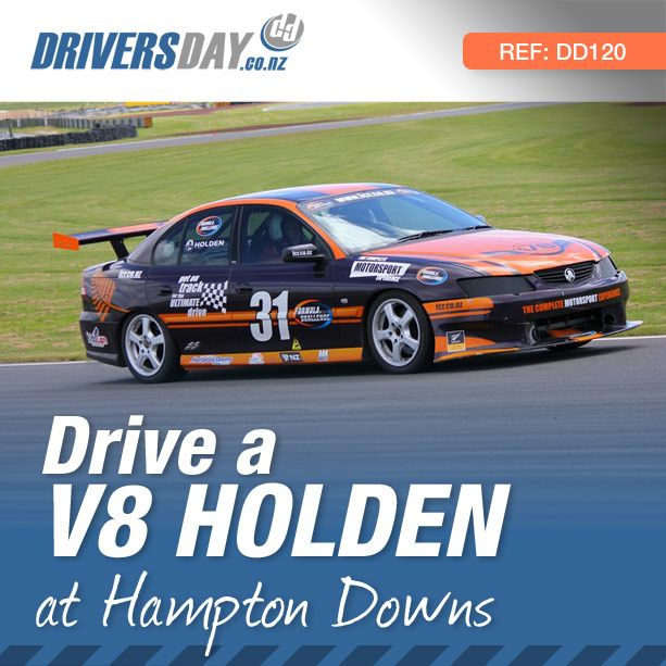 From $425, driving a V8 Holden Race Car at Hampton Downs is a great gift for men or women. Are you a Holden Fanatic or just someone who likes V8's? Come and get into one of these race prepared V8's and feel the thrill and excitement of taking to a race track.
