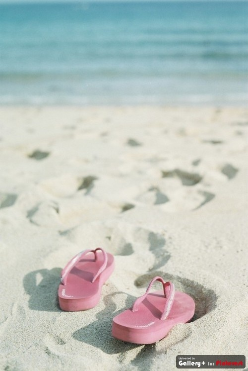 Toes in the sand!