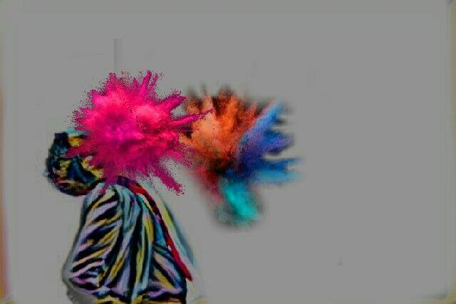 Explosión de colores.