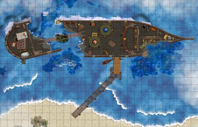 rpg map share Drowned Sorrows Tavern
