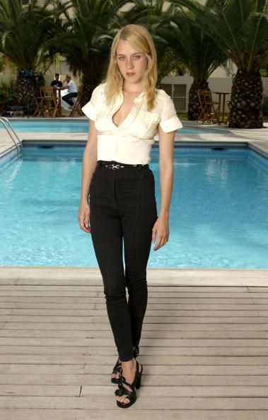 Chloe Sevigny during 2003 Cannes Film Festival Brown…
