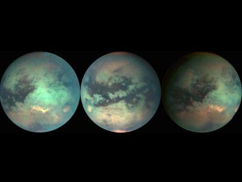 Titan aka the Mermaid Moon.