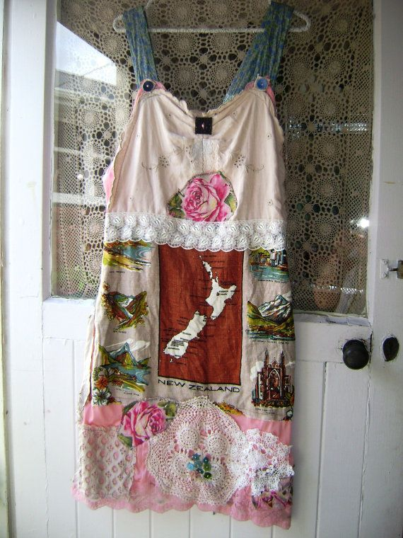 new zealand dreams lacey slip dress bohemian soul gypsy by lucyvnz, $69.00