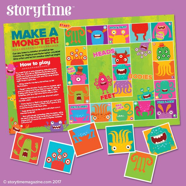 Every Storytime issue comes with fantastic games and activities too! ~ STORYTIMEMAGAZINE.COM