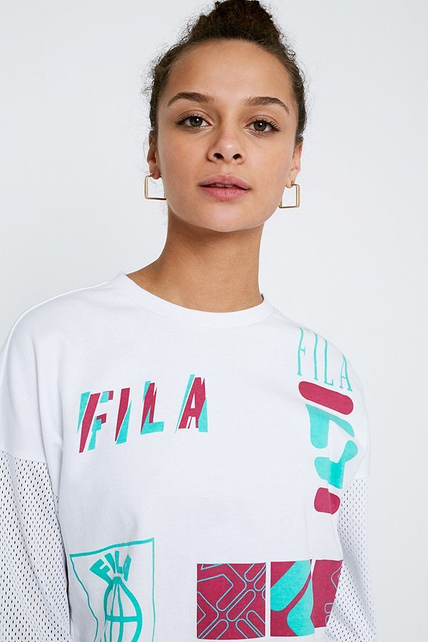 4da26f9b34 FILA Midouri Boxy T-Shirt | Clothing | Compras