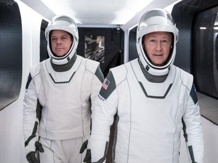 De los superhéroes al espacio: el diseñador de los trajes de SpaceX | Dónde Ir Soyuz Spacecraft, Nasa Spacex, Spacex Launch, Jose Fernandez, Hurley, Elon Musk, Spacex Dragon, Spacex Rocket, Space Shuttle